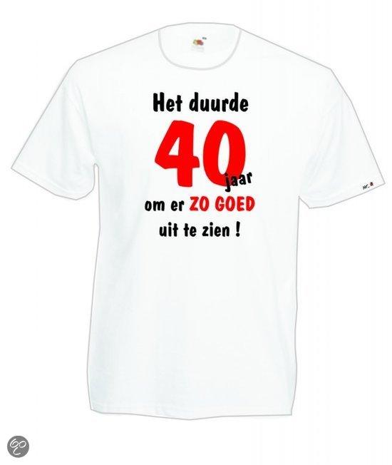 t shirt 40 jaar Heren T shirt Het duurde 40 jaar om er zo goed uit te zien t shirt 40 jaar