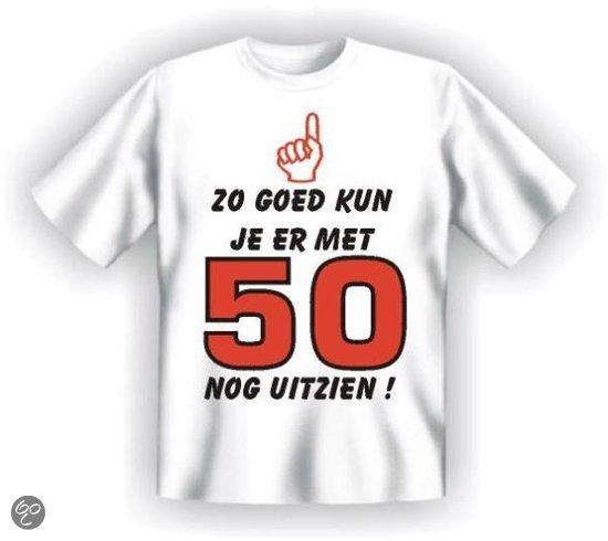 t shirt 50 jaar T shirt – Heren, Zo goed kun je er met 50 nog uitzien t shirt 50 jaar