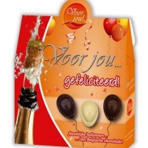 Voor jou chocolade