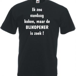 T-shirt - Heren teksten