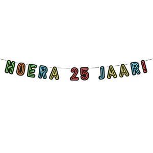Vlaggenlijn Neon leeftijd of tekst en losse alfabet letters